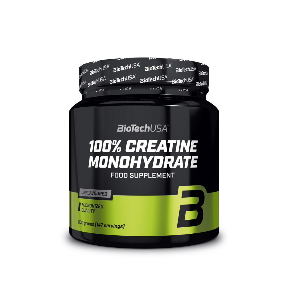 ΚΡΕΑΤΙΝΗ 100% Creatine Monohydrate 500gr  (BIOTECH USA)