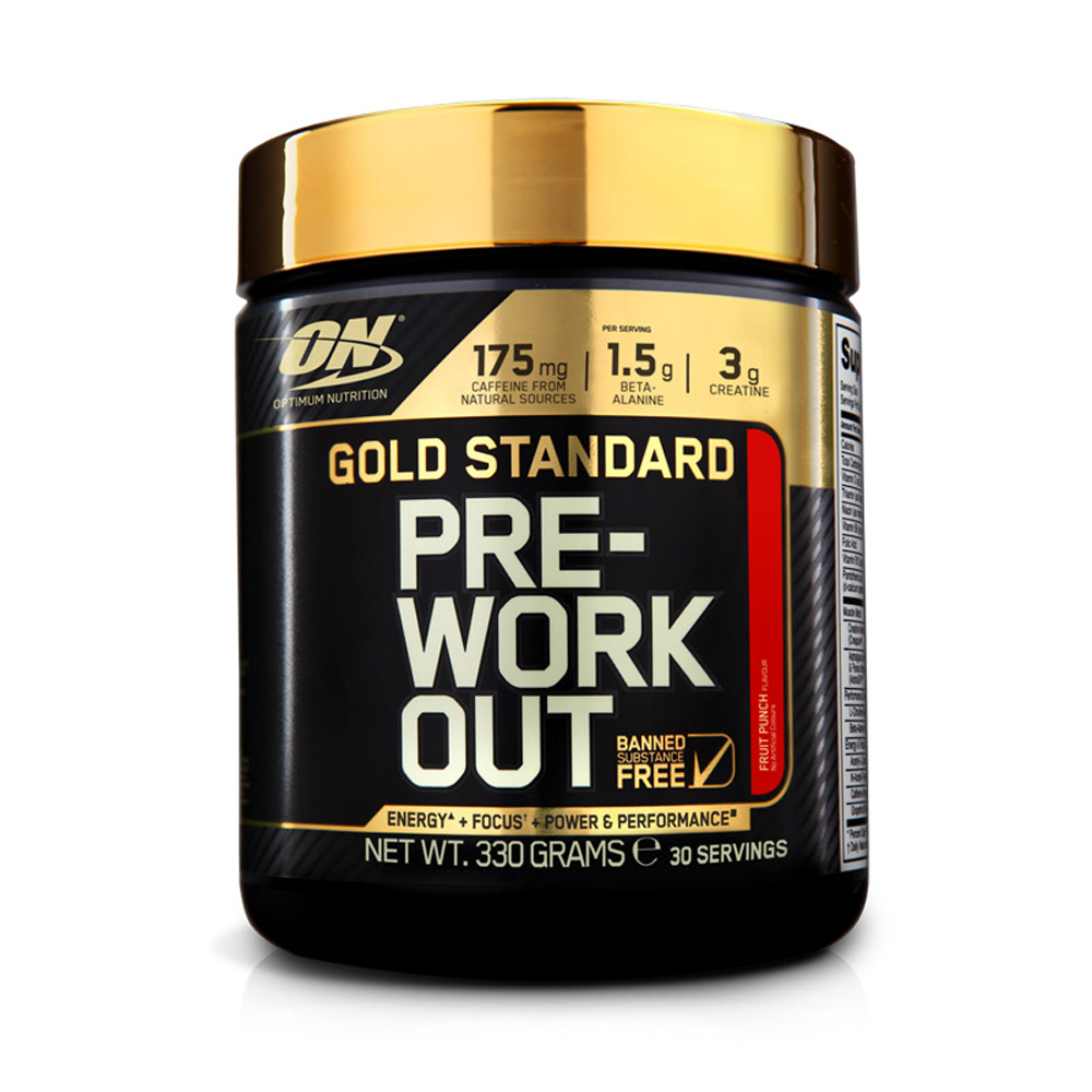 Gold Standard Pre Workout 330g (Optimum Nutrition)