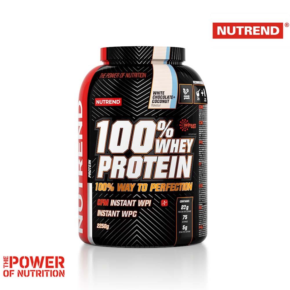ΠΡΩΤΕΙΝΗ ΟΡΟΥ ΓΑΛΑΚΤΟΣ 100% - Whey Protein 2250g (Nutrend)