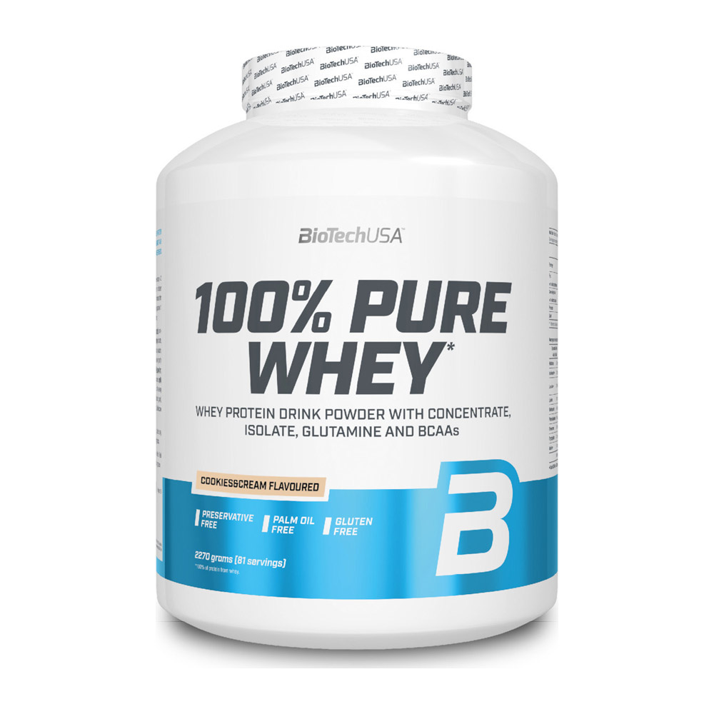 100% Pure Whey 2270gr (BIOTECH USA) ΠΡΩΤΕΙΝΗ