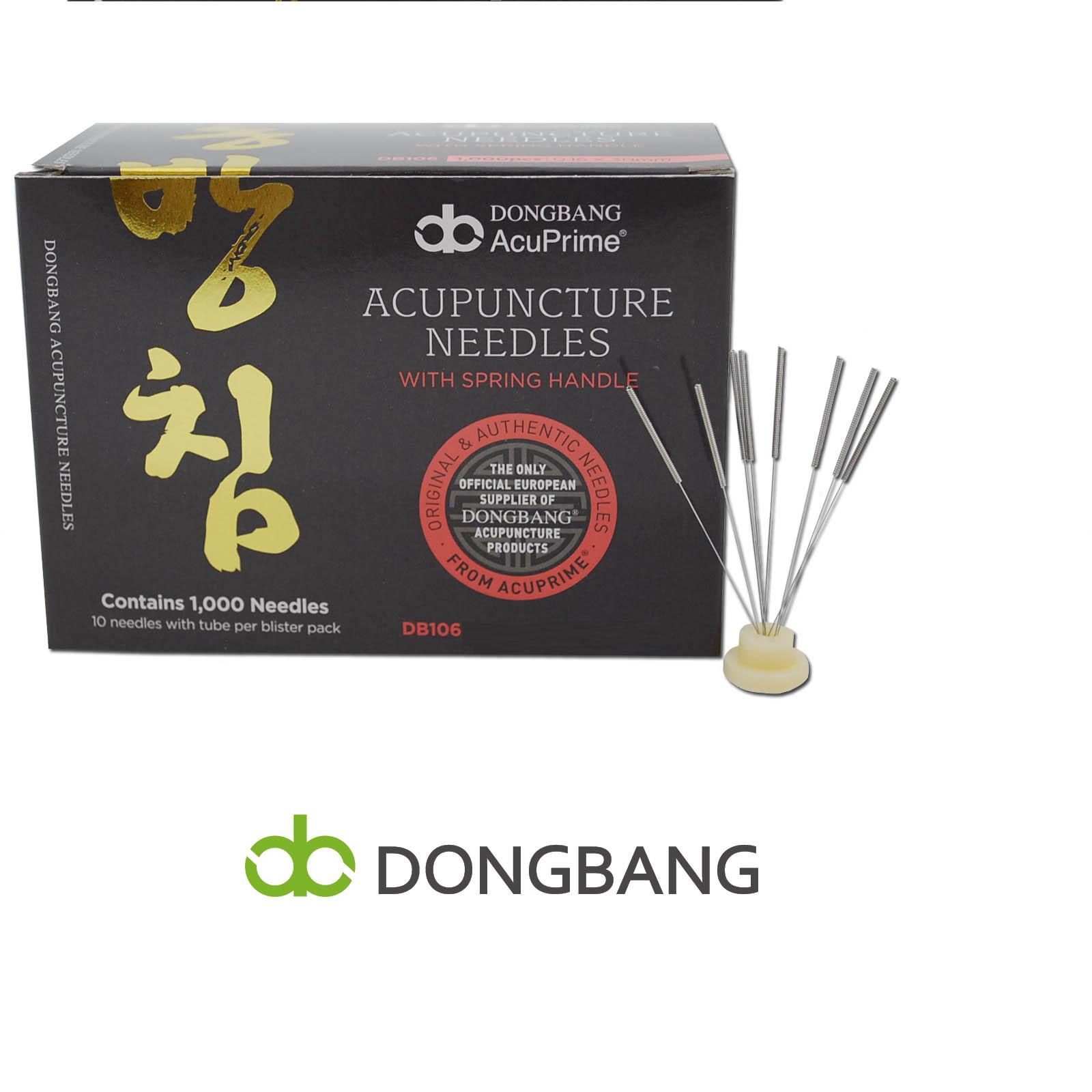 Βελόνες Βελονισμού DONG BANG (Acupuncture Needles) - 1000 Βελόνες